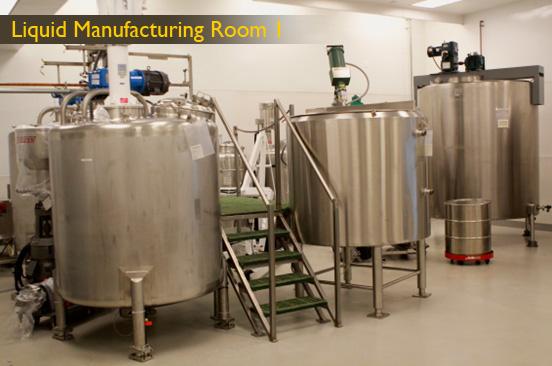 Liquid Manufacturing Room